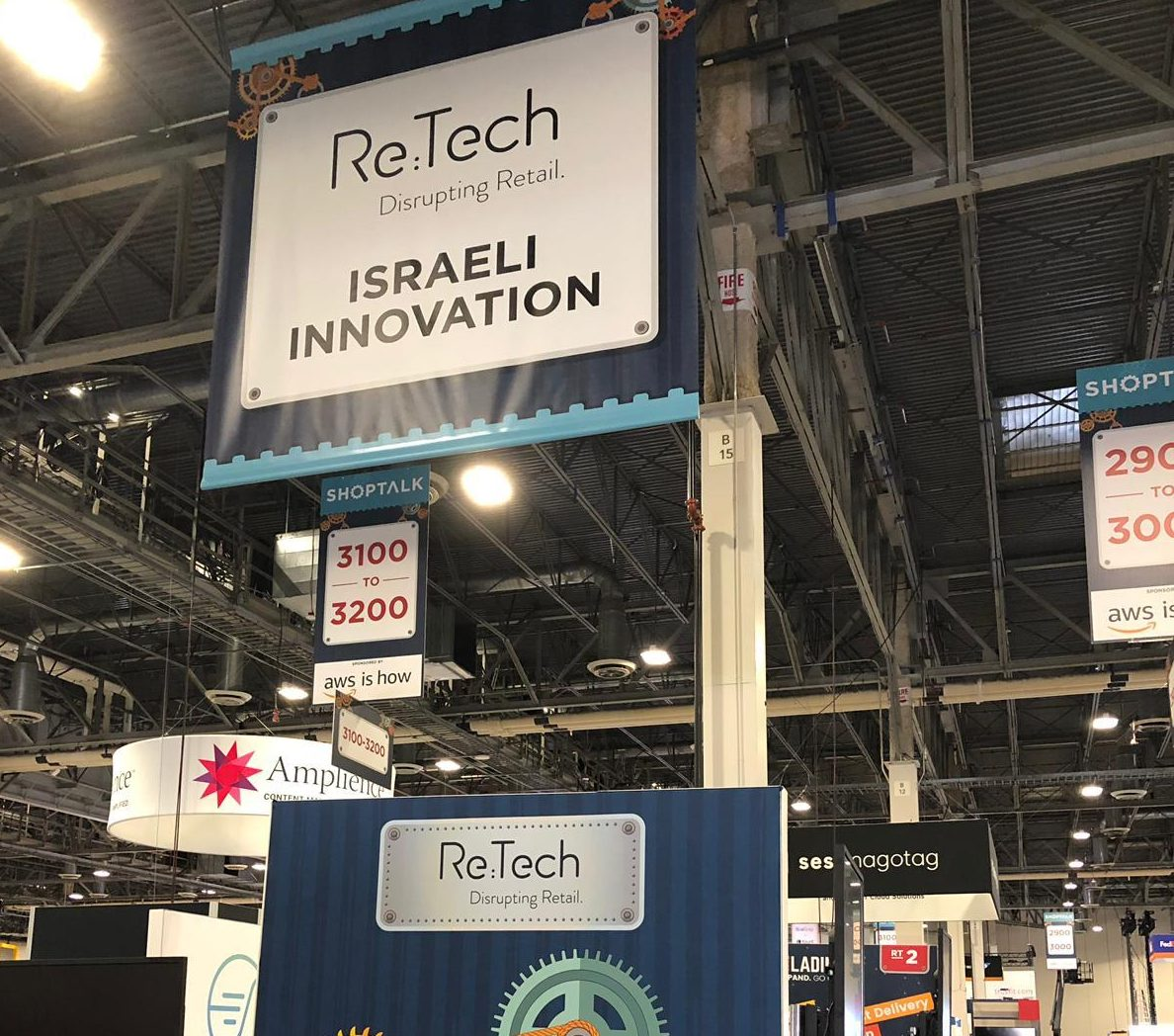 israei retail tech pavilion